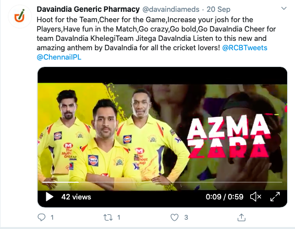 DavaIndia bags crucial deals with CSK and RCB