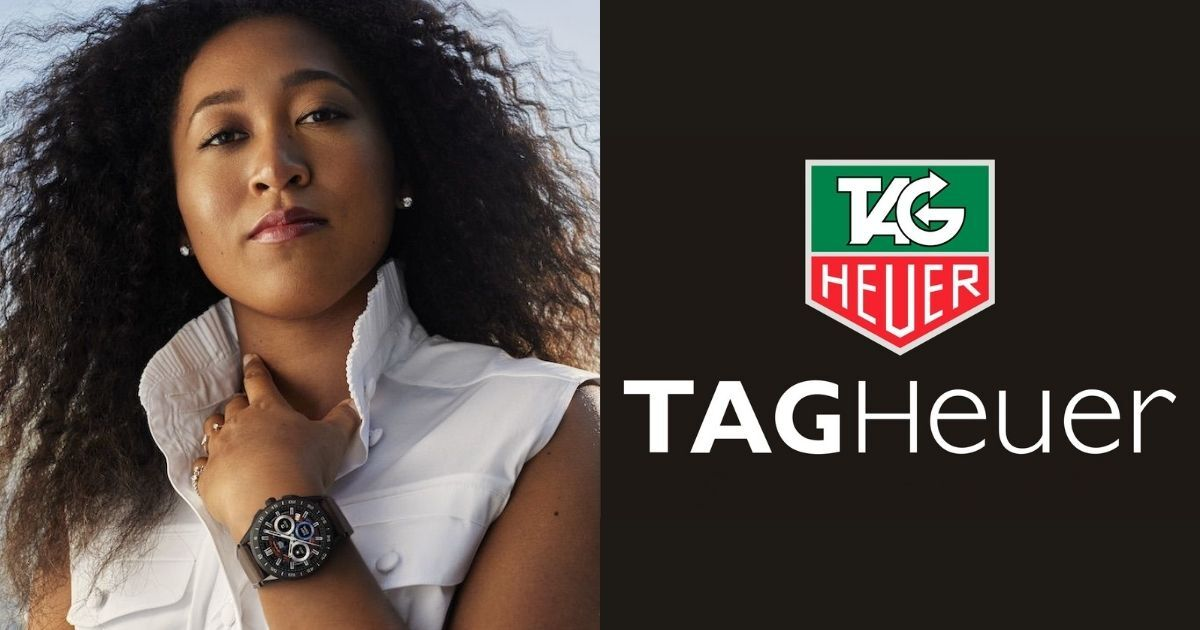 Naomi Osaka bags yet another fashion endorsement with TAG Heuer
