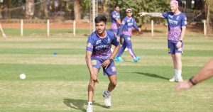 Chetan Sakariya: Young bowler ready to impress after good domestic season.