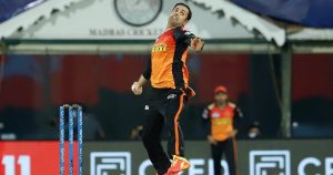 Mohammad Nabi has played only one game for Sunrisers Hyderabad in IPL 2021
