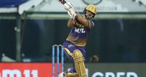 Nitish Rana has notched up two half centuries for KKR