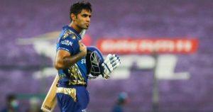 Suryakumar Yadav scores quick runs with elegant shots