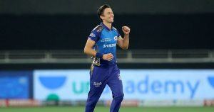 Trent Boult was on fire in powerplay overs for Mumbai Indians.