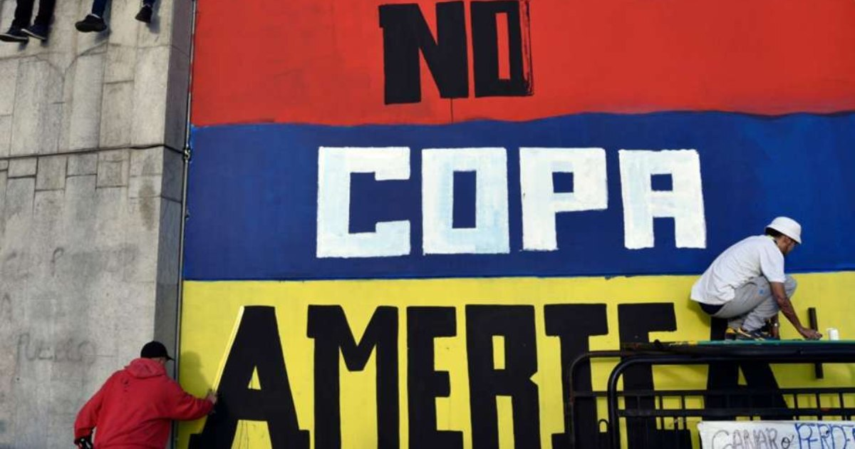COPA AMERICA Colombia removed as Co-Host amid ongoing protests