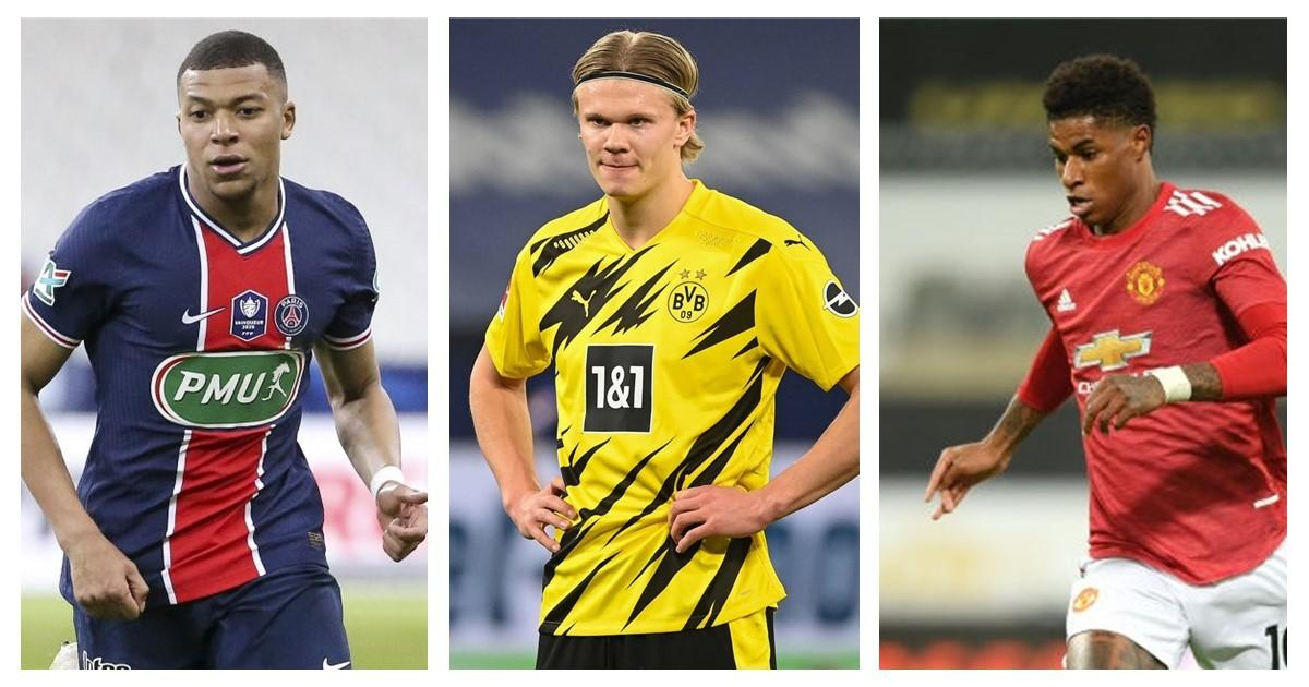 Five most valuable young footballers in 2021