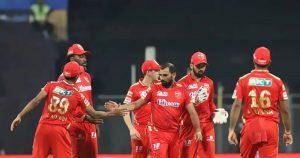 Punjab Kings managed to hold their nerves to beat Rajasthan Royals in high scoring thriller