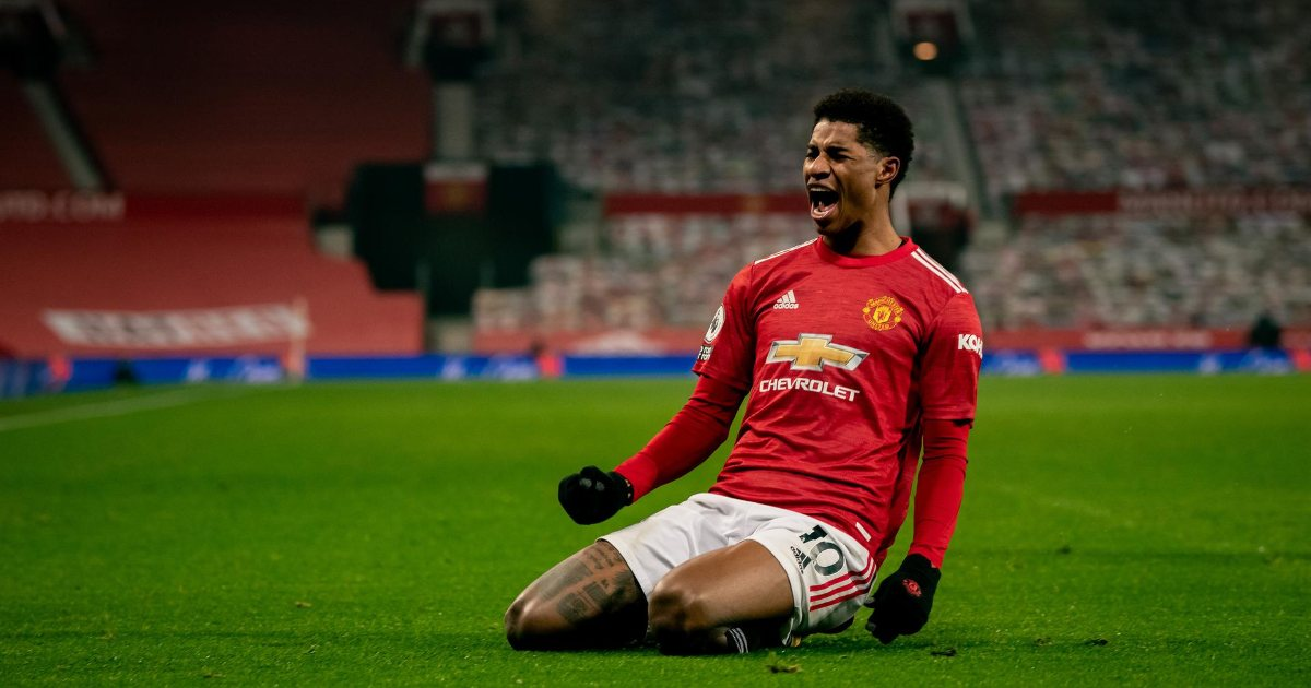Marcus Rashford continues to get better at Manchester United