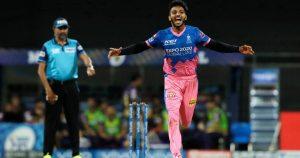 Chetan Sakariya was enjoying breakout season with Rajasthan Royals.