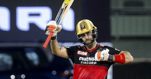 Glenn Maxwell began competing with Royal Challengers Bangalore in IPL 2021.