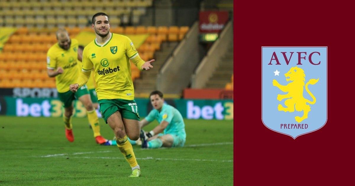 Aston Villa complete club record £38 million transfer of Emi Buendia