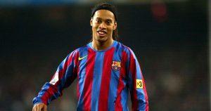 Barcelona managed to hijack Manchester United's move for Ronaldinho
