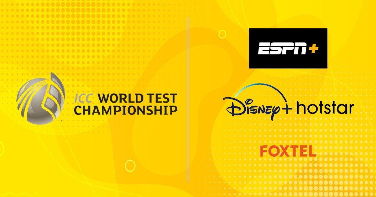 ESPN+, Disney+ Hotstar, and Foxtel bag broadcast rights for World Test Championship Final