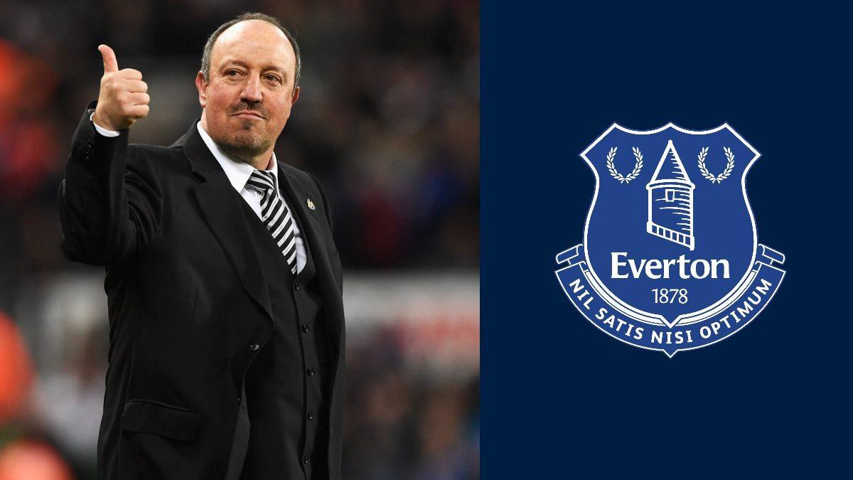 Everton set to complete controversial appointment of Rafa Benitez