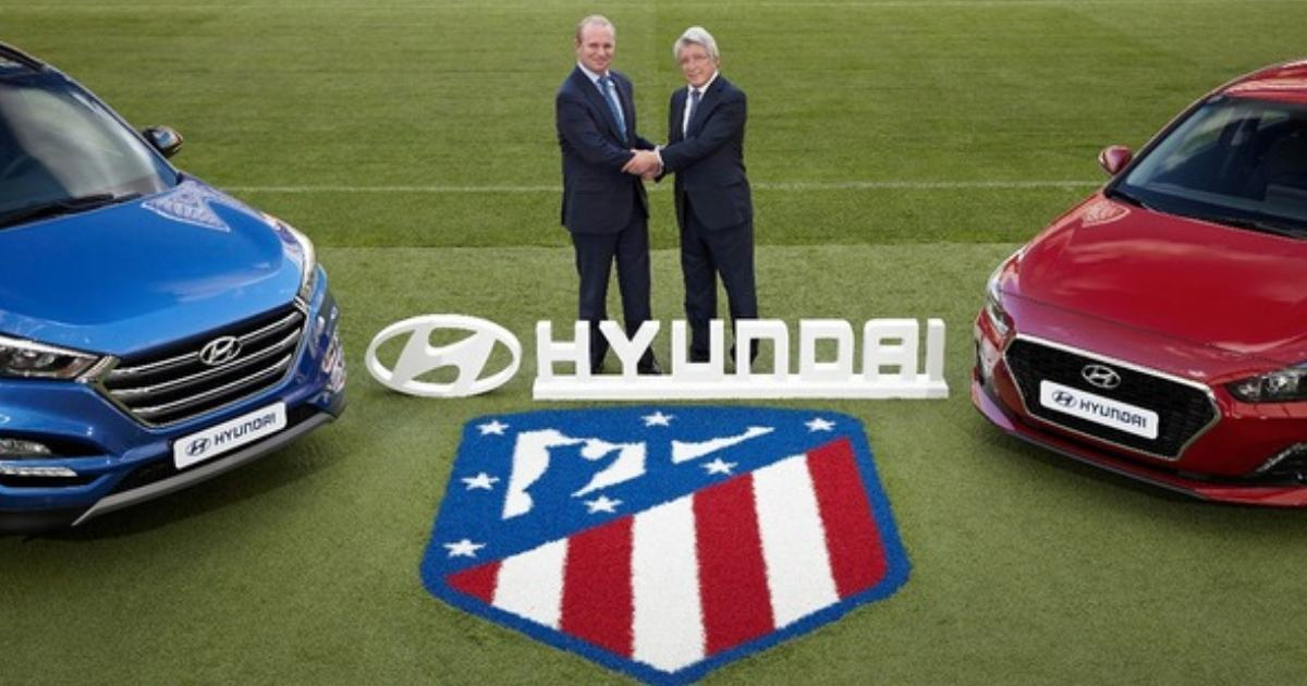 Atletico Madrid extends sleeve sponsorship deal with Hyundai