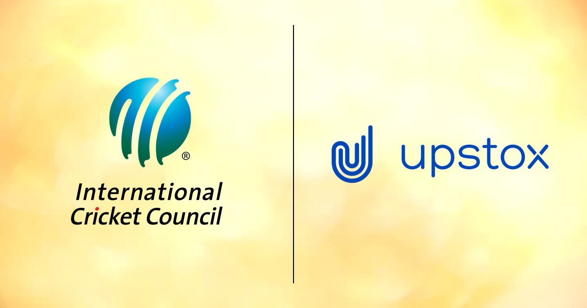 ICC announce long term partnership with Upstox