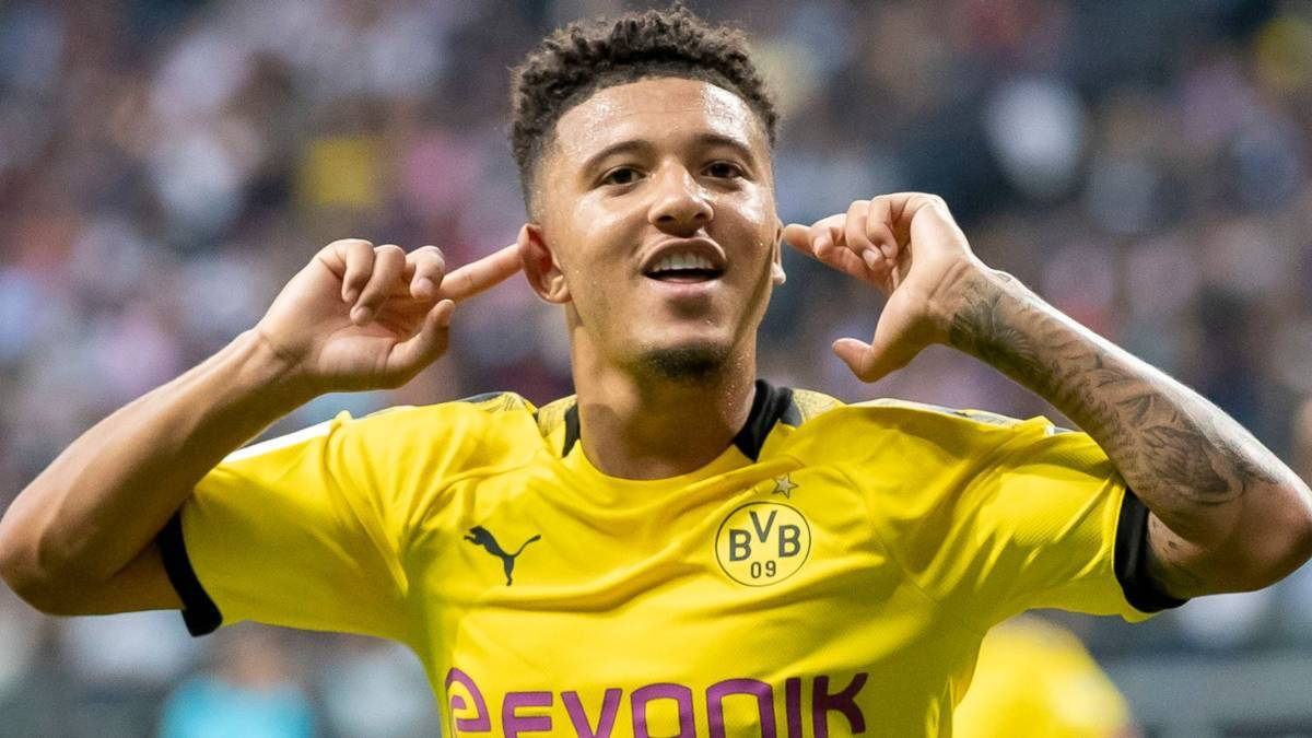 Manchester United closing on signing of Jadon Sancho from Borussia Dortmund