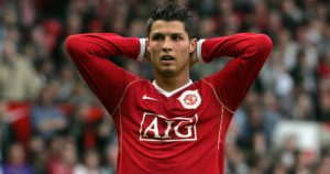 Manchester United managed to beat Arsenal at the last minute to sign Cristiano Ronaldo