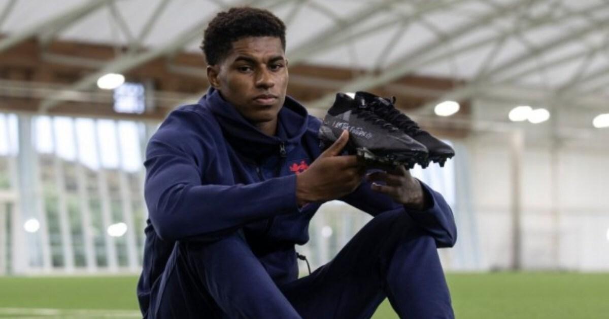Marcus Rashford renews sponsorship deal with Nike