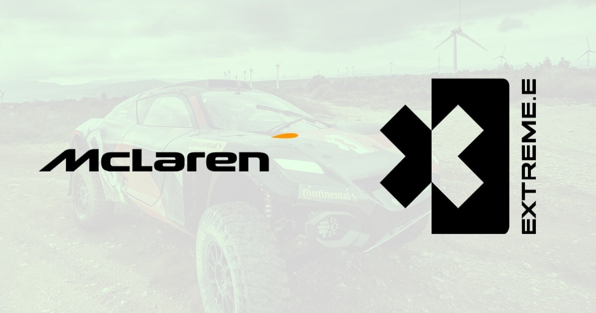 Mclaren to enter Extreme E electric off road series in 2022