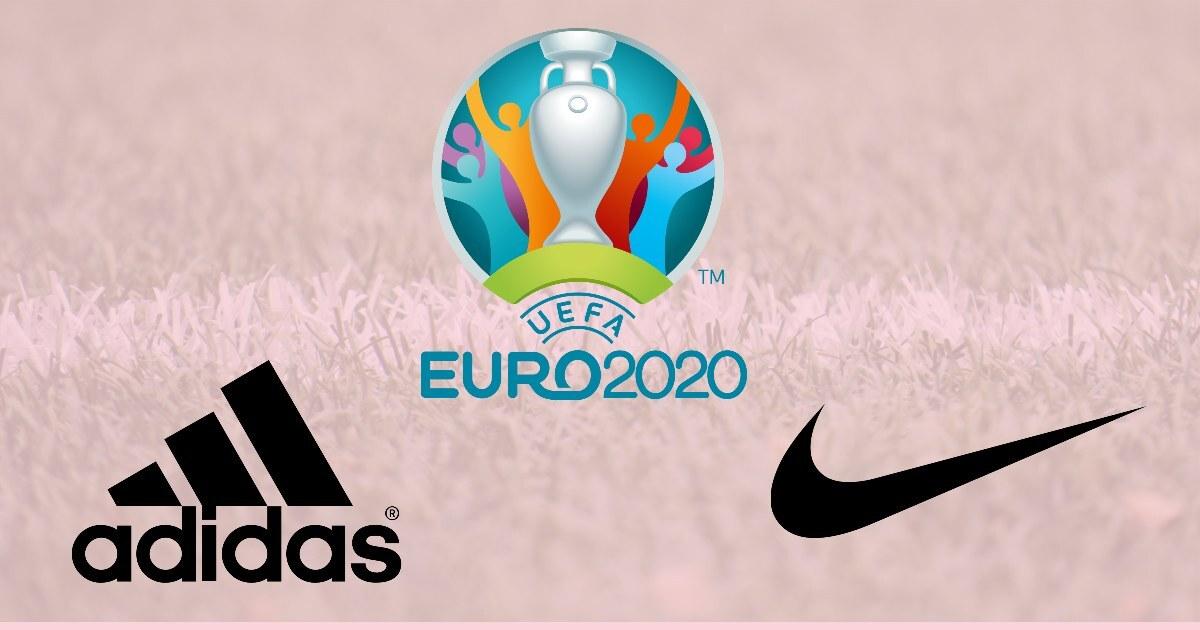 Nike vs Adidas: Brand matchup during Euro 2020