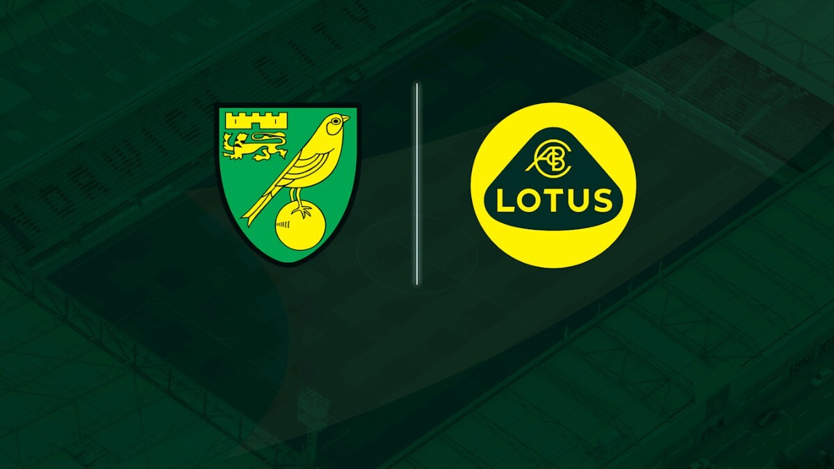 Norwich City signs shirt sponsorship deal with Lotus Cars