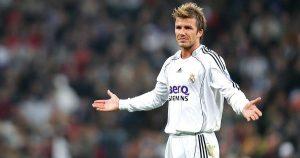 Real Madrid managed to hijack Barcelona's move for David Beckham