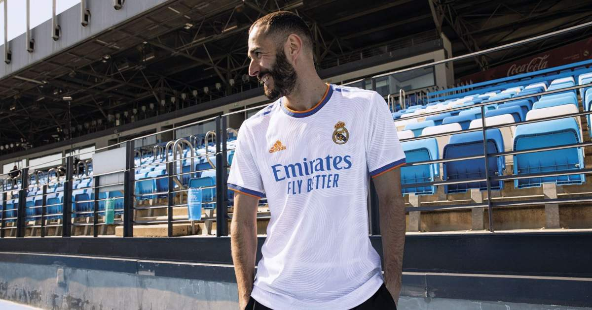 Real Madrid unveil home kit for 2021/22