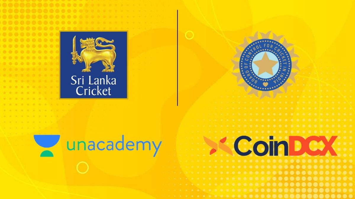 Sri Lanka vs India: Unacademy and CoinDCX roped in as title sponsors
