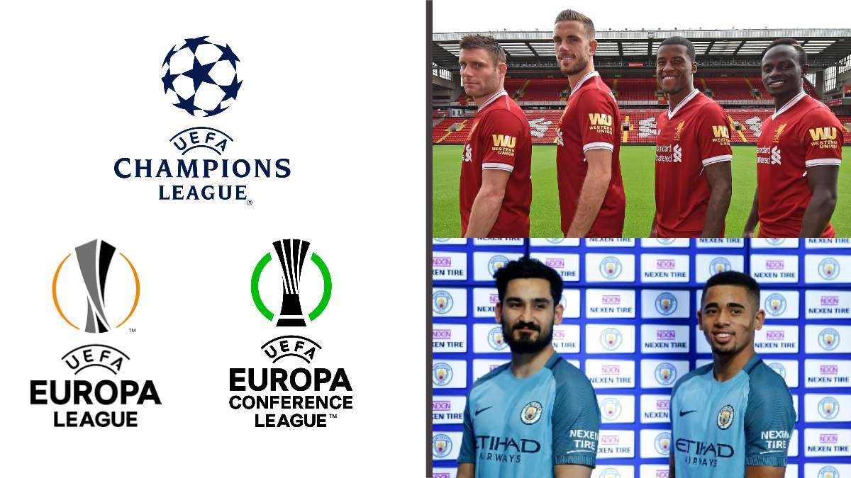 UEFA allows clubs to have sleeve sponsors during European competitions