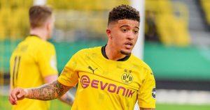 Borussia Dortmund ready to listen offers for Jadon Sancho.
