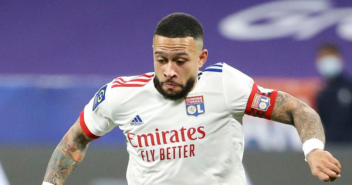 Memphis Depay is set to leave Lyon this summer