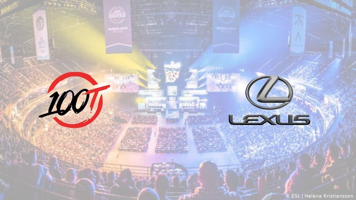 100 Thieves unveils partnership with Lexus automotive