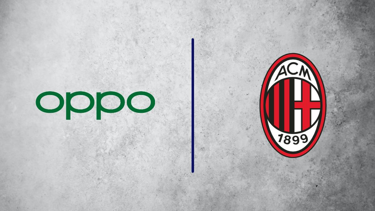 AC Milan sign a sponsorship deal with Oppo Italia