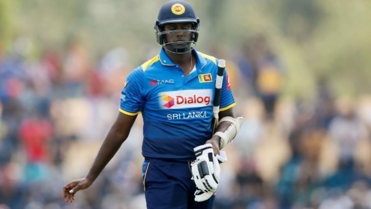 Angelo Mathews pulls out of India series due to personal reasons