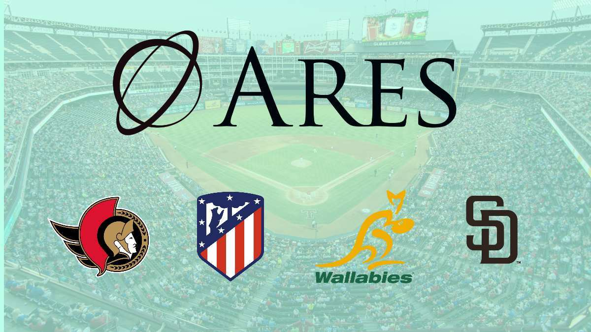 Ares Management invests $1 Billion in sports over 6 months