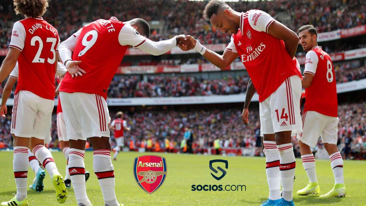 Arsenal form an exclusive partnership with Chiliz; launch $AFC Fan Token