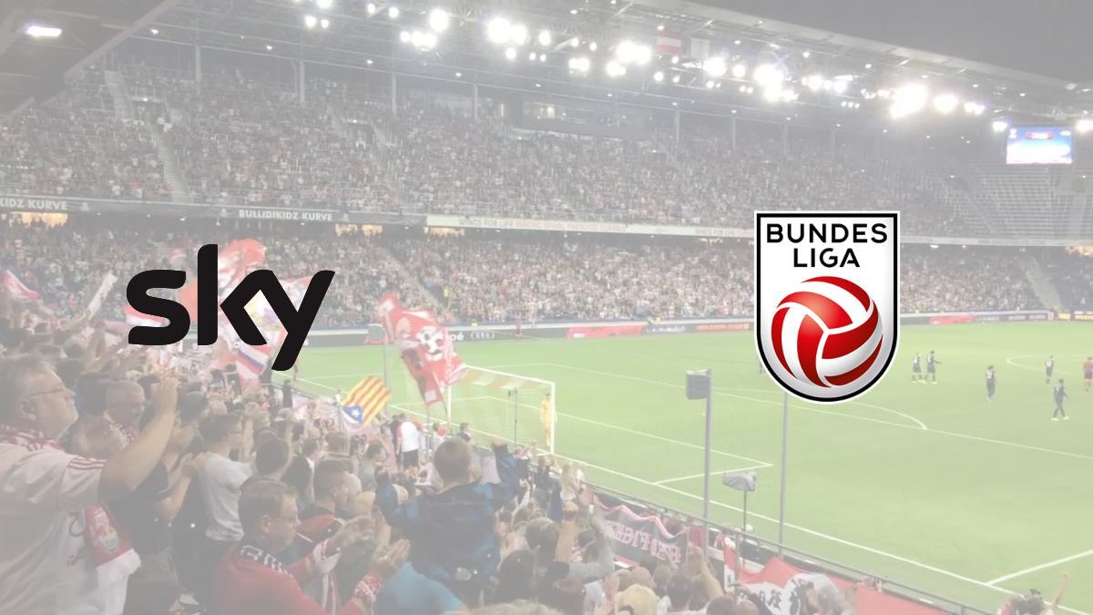 Austrian Bundesliga signs extension in broadcasting deal with Sky Group