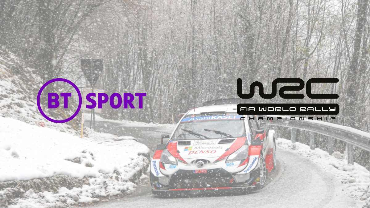 BT Sport agrees to media rights extension deal with WRC until 2024