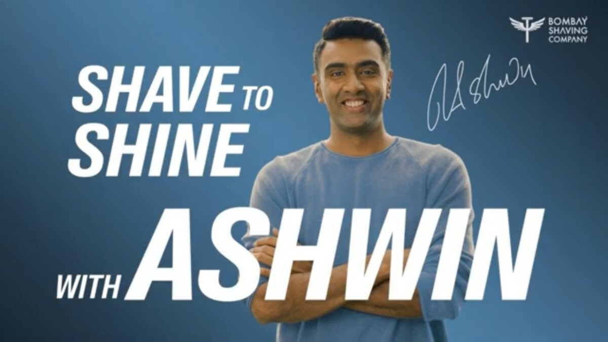 Bombay Shaving Company appoints R. Ashwin as Brand Ambassador; launches 'Shave to Shine' campaign