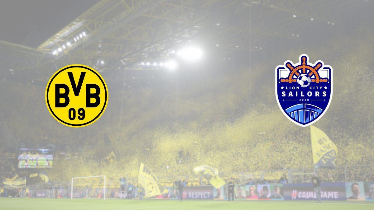 Borussia Dortmund announced 2 ½ year partnership with Lion City Sailors; focus on youth development