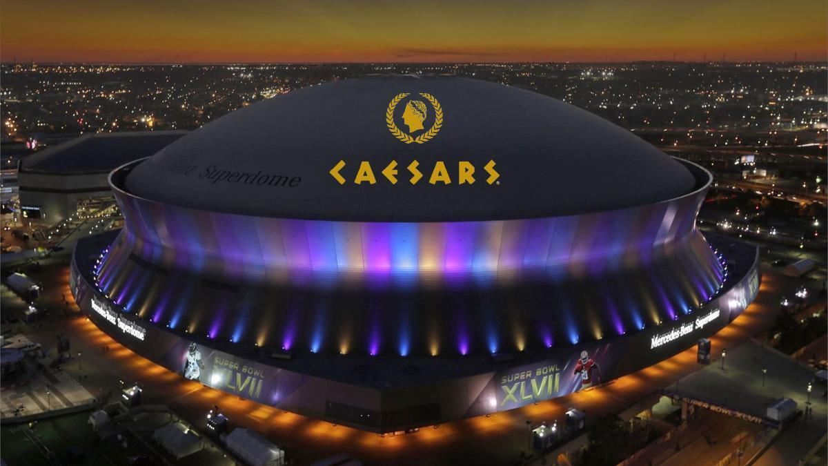 Caesars Entertainment secure naming rights of the Saint's iconic Superdome