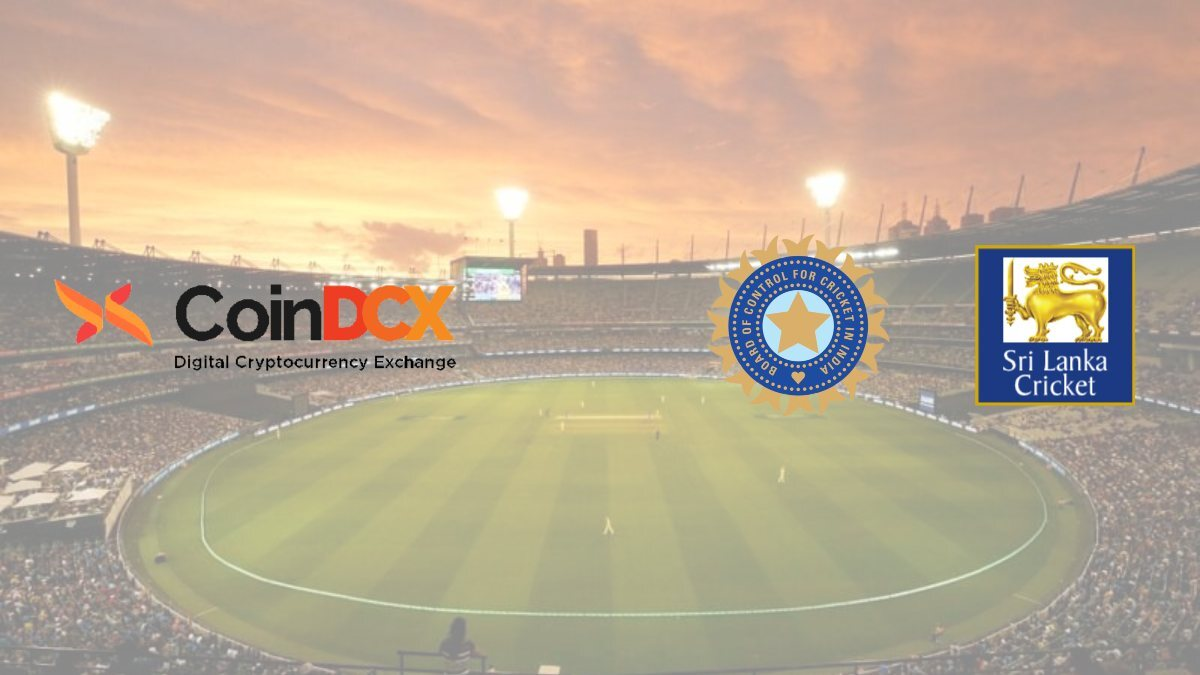 CoinDCX becomes Official Title Sponsor of India's Tour of Sri Lanka