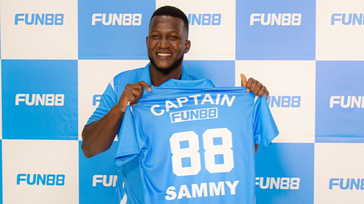Daren Sammy joins as brand ambassador for betting company Fun88