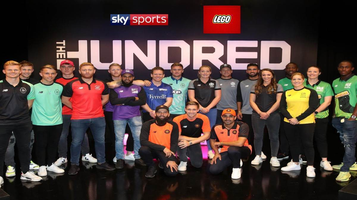 ECB's 'The Hundred' collaborates with Sky Sports and LEGO