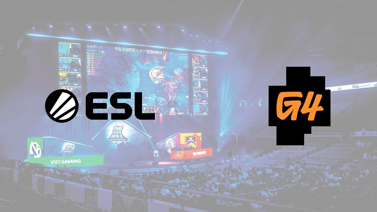 ESL agrees to media sponsorship rights deal with television network G4
