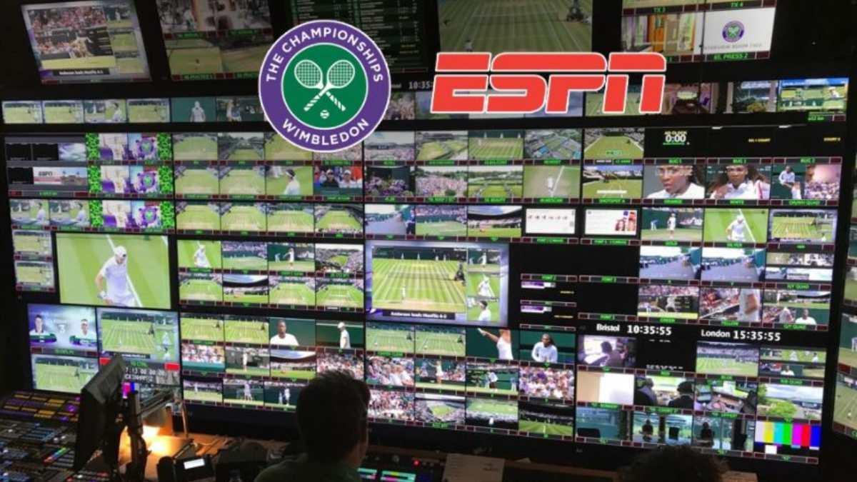 ESPN and Wimbledon extend TV rights agreement until 2035