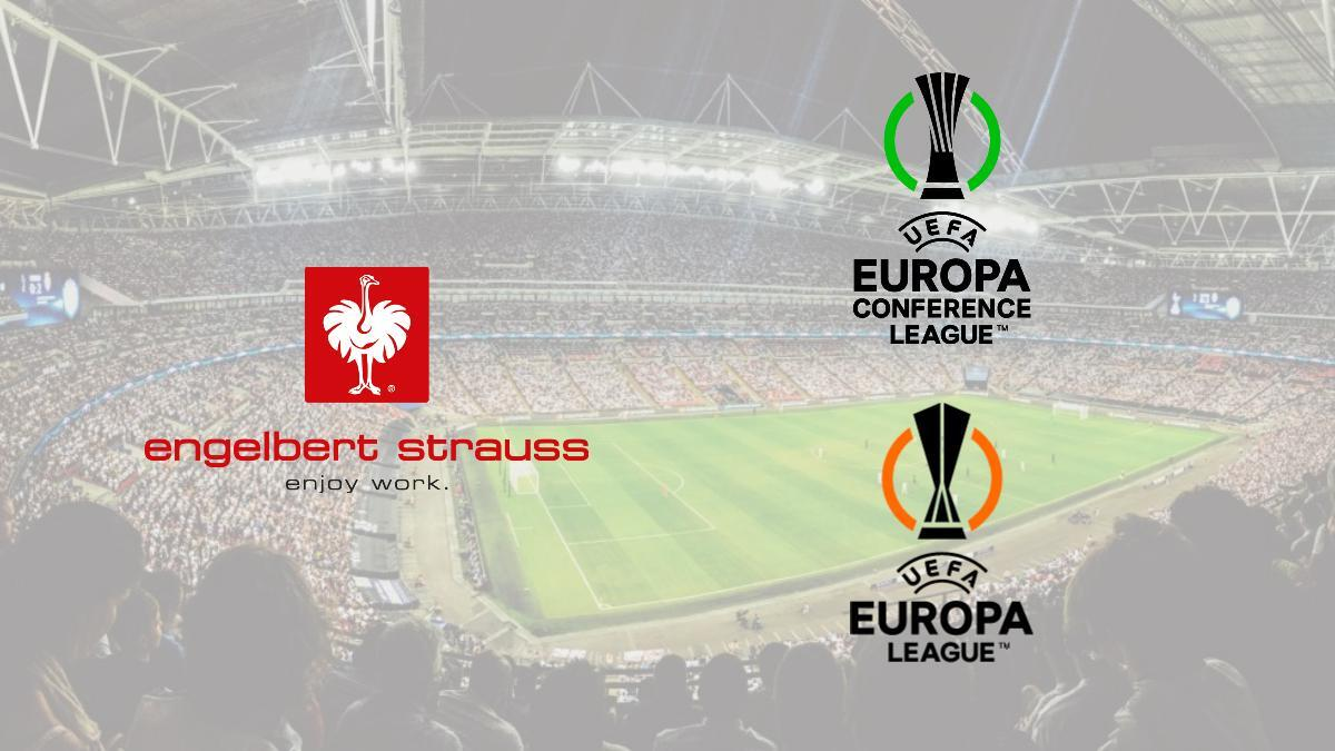 Engelbert Strauss becomes the official partner of UEFA Europa League and UEFA Conference League