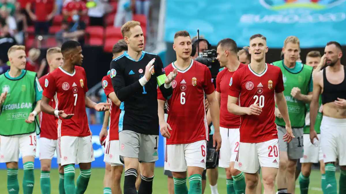 Hungary fans barred from entering the stadiums for next three UEFA games due to discriminatory behaviour