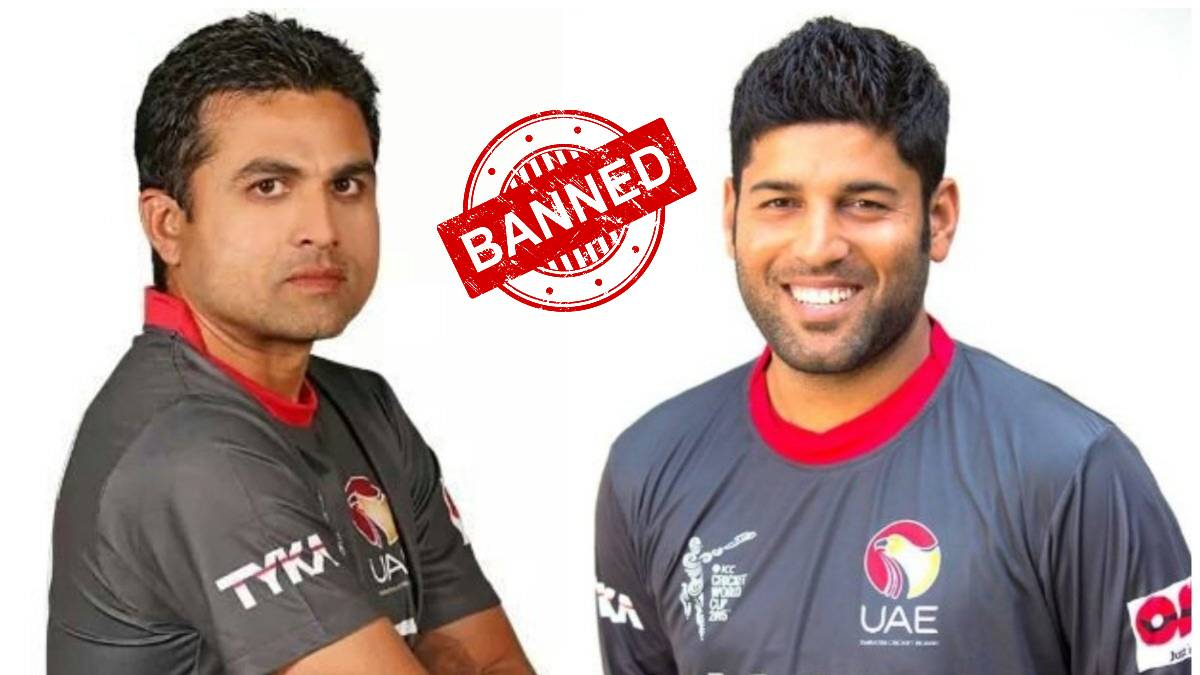 ICC bans UAE cricketers Amir Hayat, Ashfaq Ahmed for 8 years on grounds of match-fixing