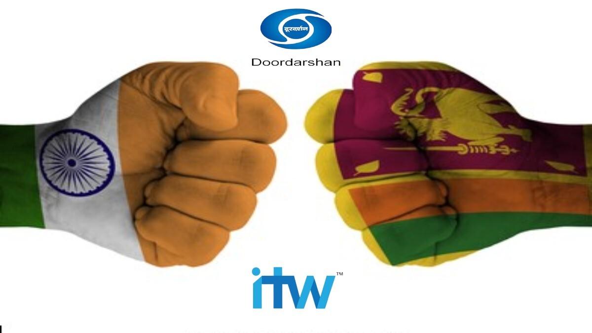 India Tour of Sri Lanka ITW brings in a dozen new sponsors on Doordarshan